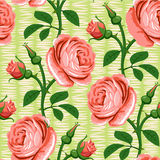 Seamless rose pink background Stock Photo