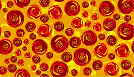Seamless roses background Royalty Free Stock Photos