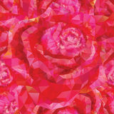 Seamless roses ornament Stock Photography