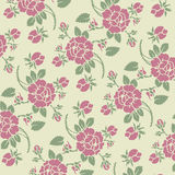 Seamless roses pattern Royalty Free Stock Photography