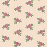 Seamless roses pattern Royalty Free Stock Images