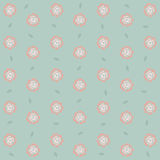 Seamless roses pattern background, EPS10 Stock Image