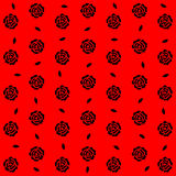 Seamless roses pattern background, EPS10 Royalty Free Stock Photography