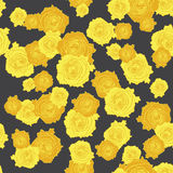 Seamless roses pattern 002 Royalty Free Stock Photography
