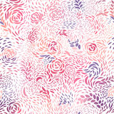 Seamless roses patterns. Seamless pattern of rose flowers and petals Royalty Free Stock Images