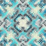 Seamless rough canvas. Seamless background pattern. Imitation of a texture of rough canvas painted with paint Royalty Free Stock Images