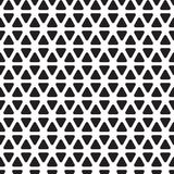 Seamless rounded triangle pattern background. Wallpaper Royalty Free Stock Photos