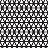 Seamless rounded triangle pattern background. Wallpaper vector illustration