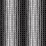 Seamless rounded triangle pattern background. Wallpaper Stock Image