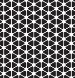 Seamless rounded triangle pattern background. Wallpaper royalty free illustration