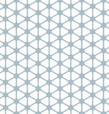 Seamless rounded triangle pattern background. Wallpaper Royalty Free Stock Image
