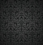 Seamless royal decorative wallpaper Royalty Free Stock Images