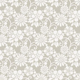 Seamless royal designer floral wallpaper Stock Photo