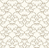 Seamless royal designer wallpaper Royalty Free Stock Photography