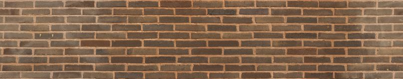 Seamless running bond brown Brick texture stock photography