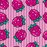 Seamless ruspberry background Royalty Free Stock Photography