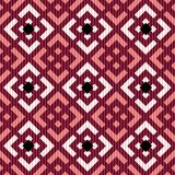 Seamless russian pattern. Seamless russian red fabric pattern Stock Photography