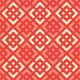 Seamless russian pattern. Seamless red fabric russian pattern Stock Photos