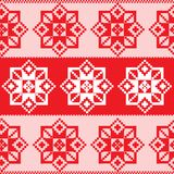 Seamless russian pattern Royalty Free Stock Images