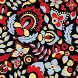 Seamless russian pattern.orient design.  illustration Royalty Free Stock Photo