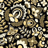 Seamless russian pattern.orient design.  illustration Royalty Free Stock Images
