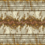 Seamless Rusted Panel Stock Images