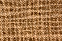 Texture of Burlap royalty free stock photography