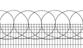 seamless säkerhet för staket royaltyfri foto
