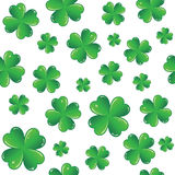 Seamless Saint Patrick's day background Royalty Free Stock Images