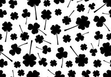 Seamless Saint Patricks Day Background Stock Photography