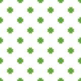 Seamless Saint Patricks day clover background. Stock Photography