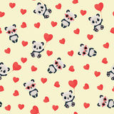 Seamless Saint Valentine's Day pattern Royalty Free Stock Photography