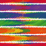 Seamless sample - the abstract shaded multicolored strips Royalty Free Stock Photography
