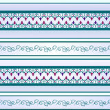 Seamless sample.Lilac and turquoise colors royalty free stock photo