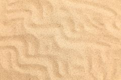 Seamless sand on a whole background. Texture. Royalty Free Stock Photo