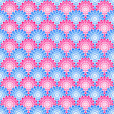 Seamless Scales Pattern. Seamless red and blue scales pattern Stock Images
