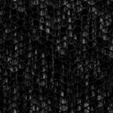 Seamless scales snake skin texture black dirty Stock Image