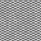 Seamless scales snake skin texture silver smaler Stock Image