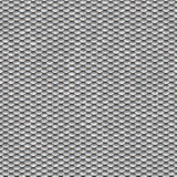 Seamless scales snake skin texture silver smallest Royalty Free Stock Photography