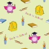 Seamless for school Stock Photo