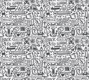 Seamless school pattern Stock Photo