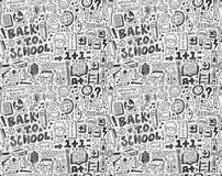 Seamless school pattern Royalty Free Stock Image