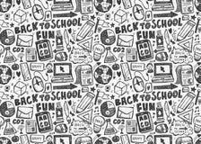 Seamless school pattern. Vector illustration file Royalty Free Stock Image