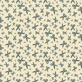 Seamless scissors pattern Stock Image