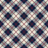 Seamless scotland check pattern background Stock Photos