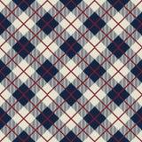 Seamless scotland check pattern background Stock Photos