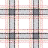Seamless Scottish plaid checkered vector pattern. stock illustration