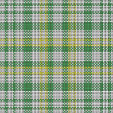 Seamless  scottish squared cloth background Royalty Free Stock Image