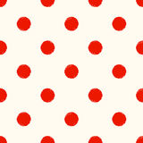 Seamless scribble circle dots pattern Royalty Free Stock Photo