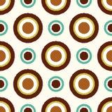 Seamless scribble circle dots pattern Royalty Free Stock Photo